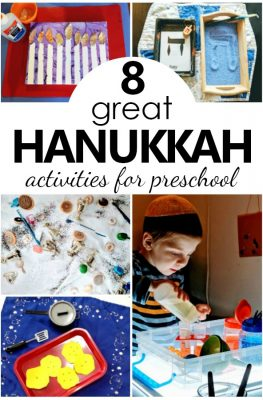 Playful Hands-on Hanukkah Activities for Preschoolers