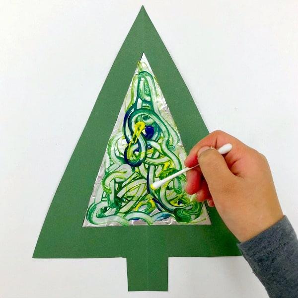 Tinfoil Process Art Christmas Ornaments Process Art Craft For Kids