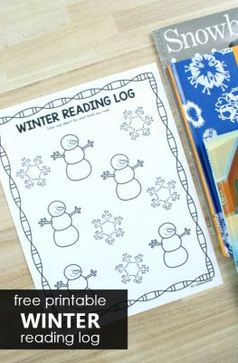 Fall reading log for preschool and kindergarten. Free printable sample also includes full series of seasonal and nonseasonal reading logs for the whole year