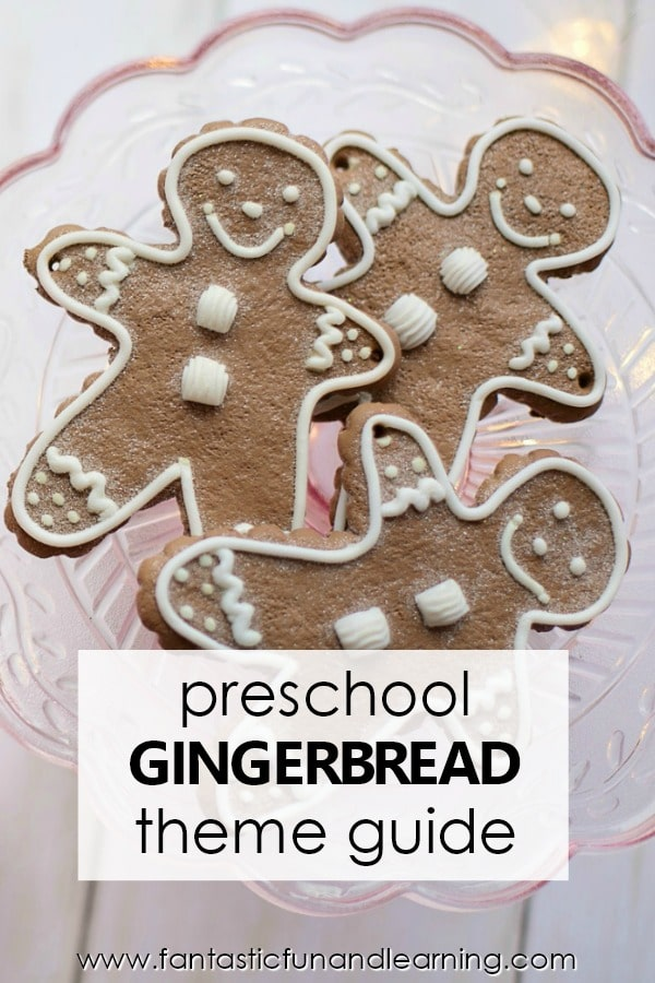 Gingerbread Theme Planning Guide. Preschool Gingerbread Activities and Lesson Plans.