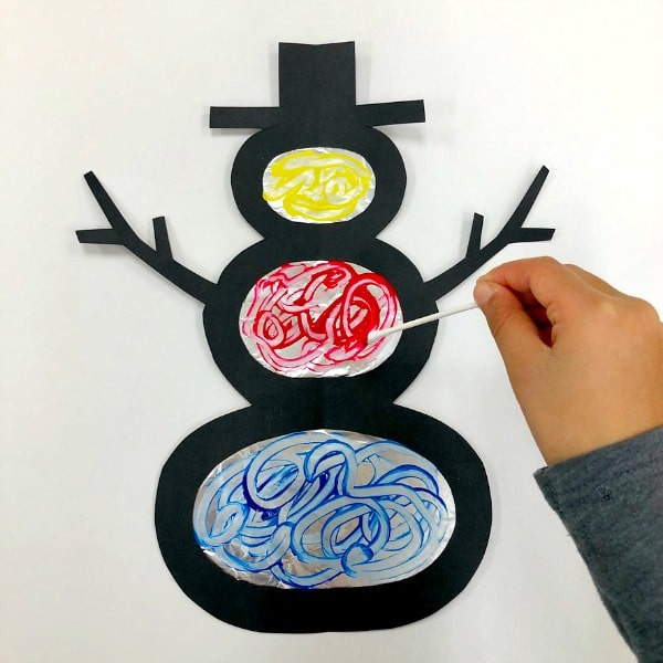 Process Art Christmas Ornaments Craft For Kids