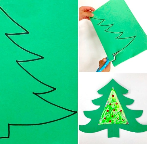 Tinfoil Process Art Christmas Ornaments Kids Process Art