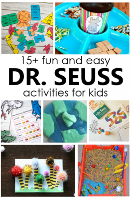 Dr. Seuss Activities for Preschool and Kindergarten. Try these fun Dr. Seuss activities for your preschool and kindergarten Dr. Seuss theme or Read Across America Day. Learning activities, freebies, and more.