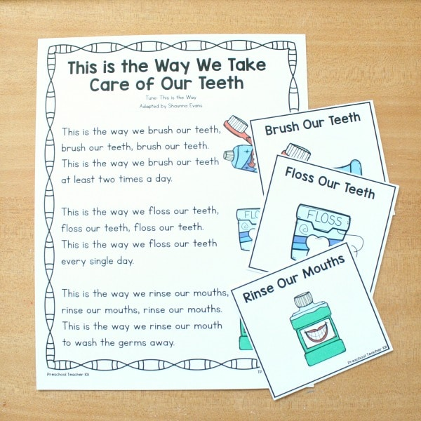 Preschool Brush Our Teeth Song