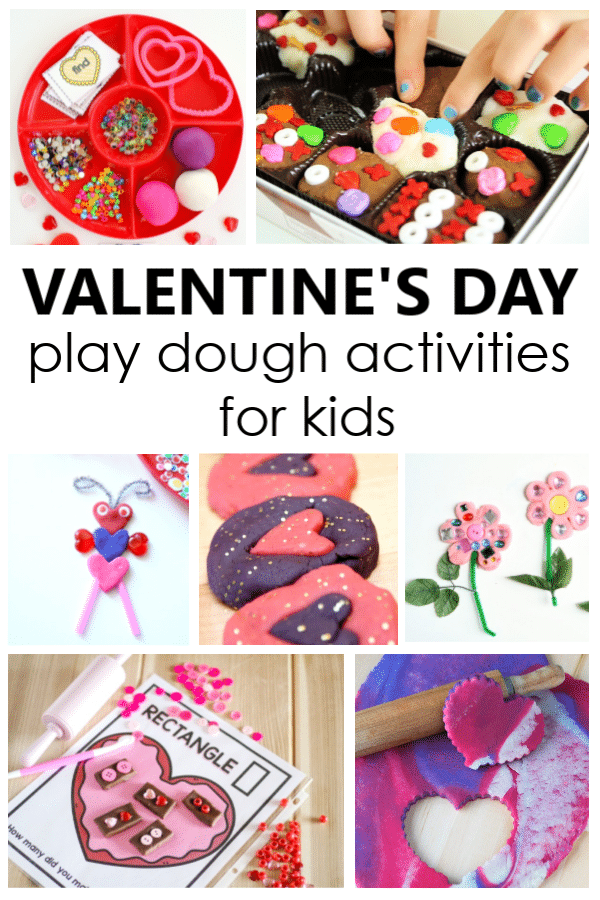 Valentine's Day Play Dough Activities