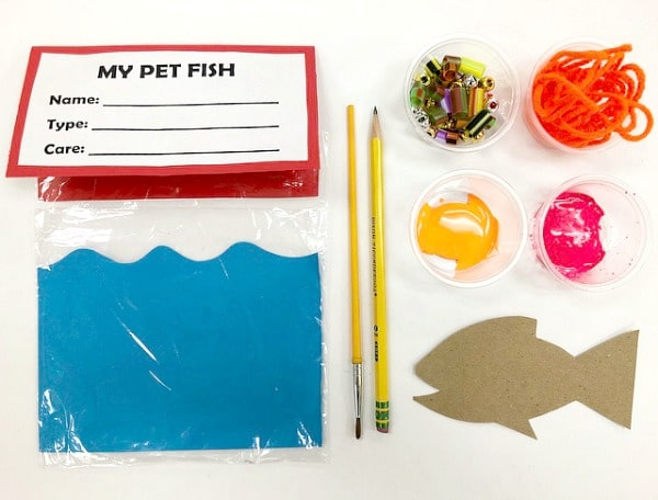 Pet Fish project for kids