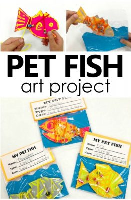 My Pet Fish Arts and Crafts Project for Kids