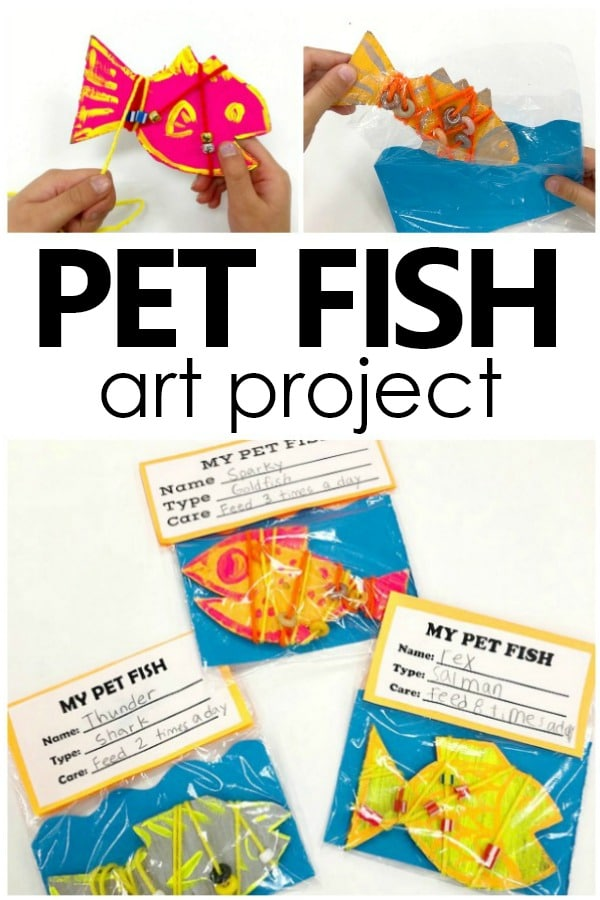 Pet Fish art project for kids