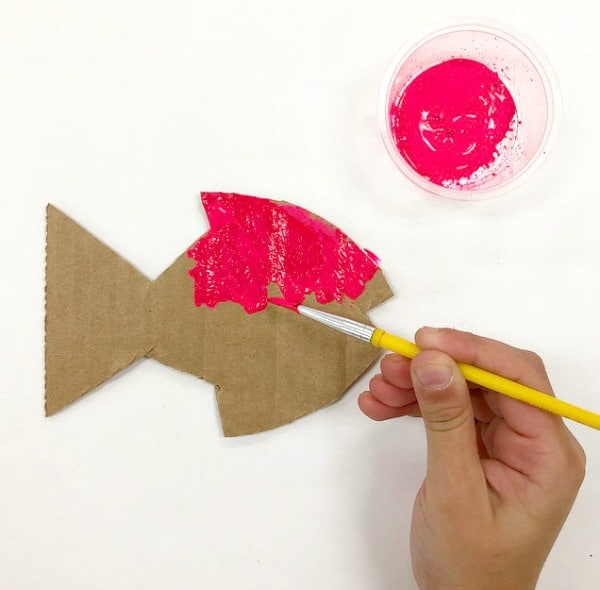 Pet Fish art. How to make Pet Fish