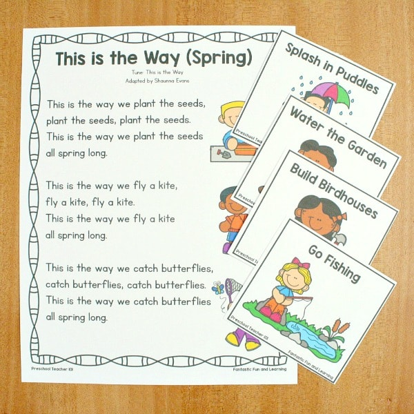 This is the Way Spring Song for Toddlers and Preschoolers
