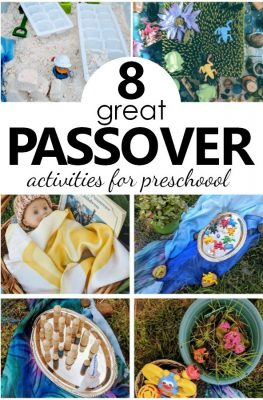 8 great Passover Activities for Preschool