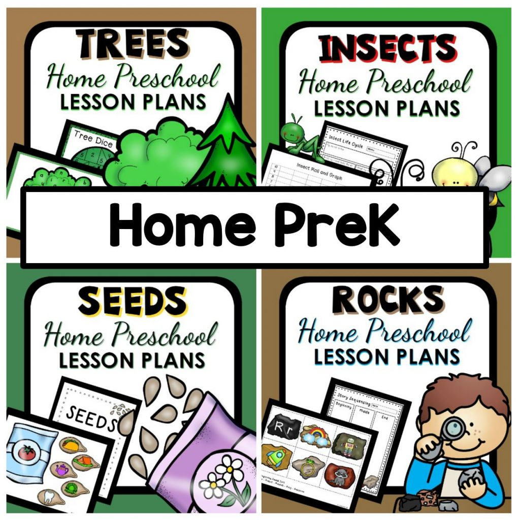 Home Preschool Lesson Plans