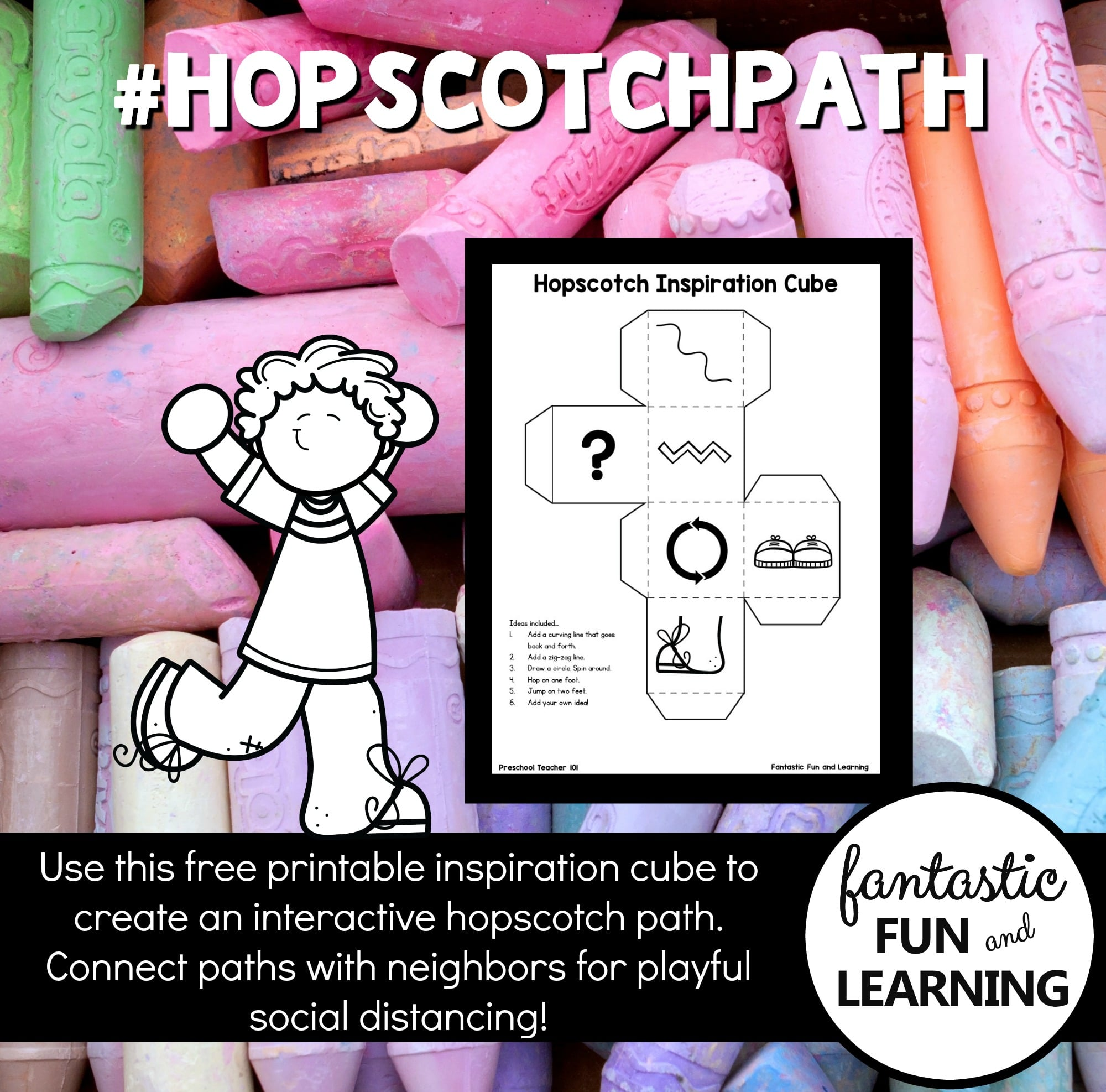 Hopscotch Path Neighborhood Challenge