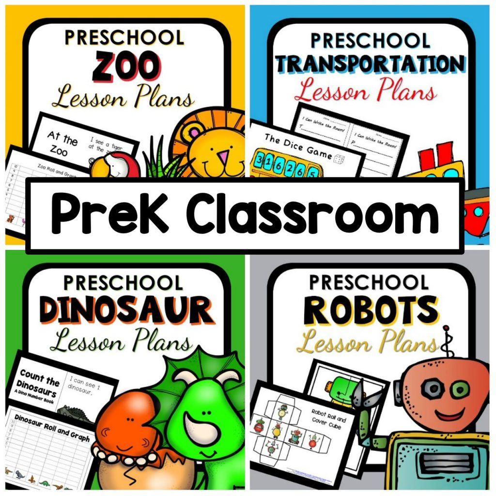 Preschool Classroom Lesson Plans