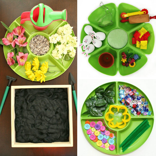 Spring Play Dough Activities 3