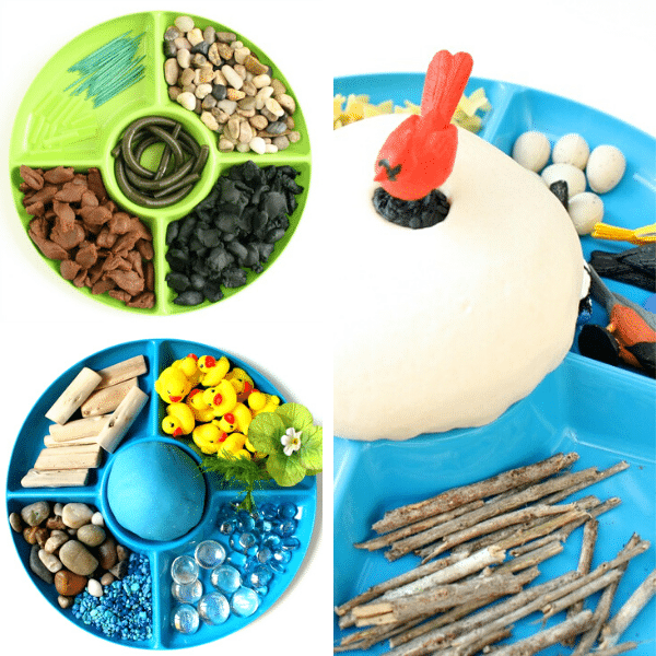 Spring Play Dough Activities 4