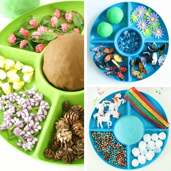 Spring Play Dough Activities 5