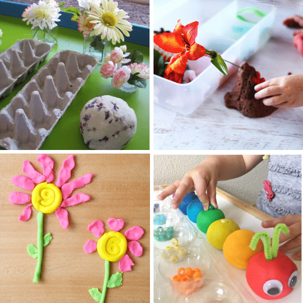 Spring Play Dough Activities 2