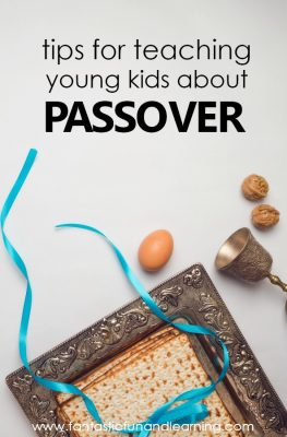 Tips for Teaching Young Kids About Passover