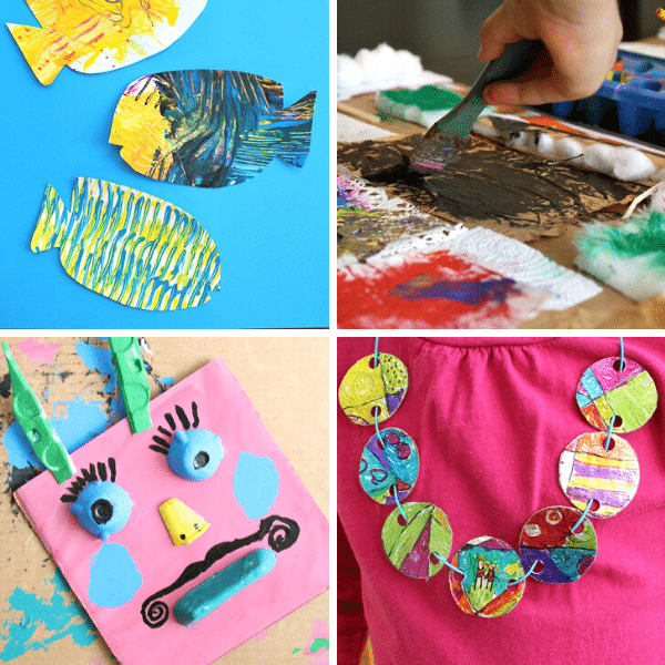 Easy Art Projects To Do At Home Fantastic Fun Learning