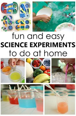 Fun and Easy Science Experiments to Do at Home with Basic Supplies