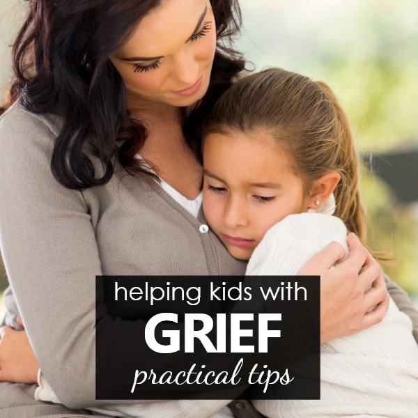 Helping kids through the grief process