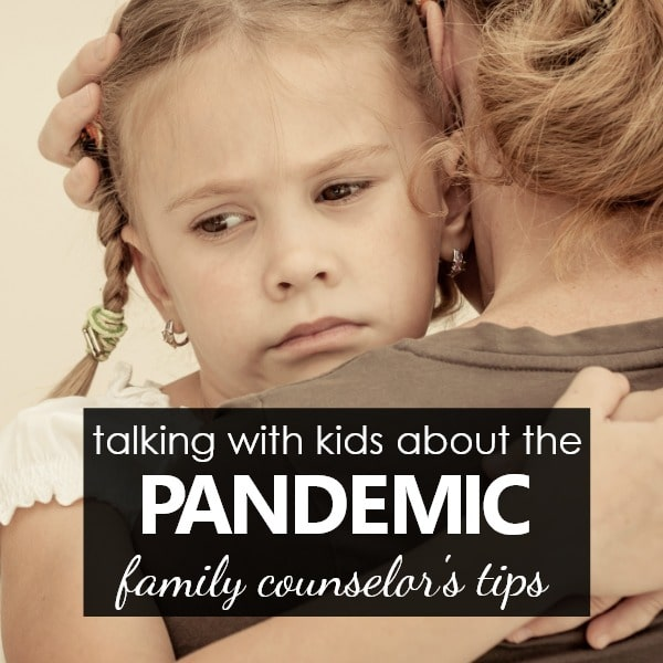 Tips for talking with kids about COVID-19