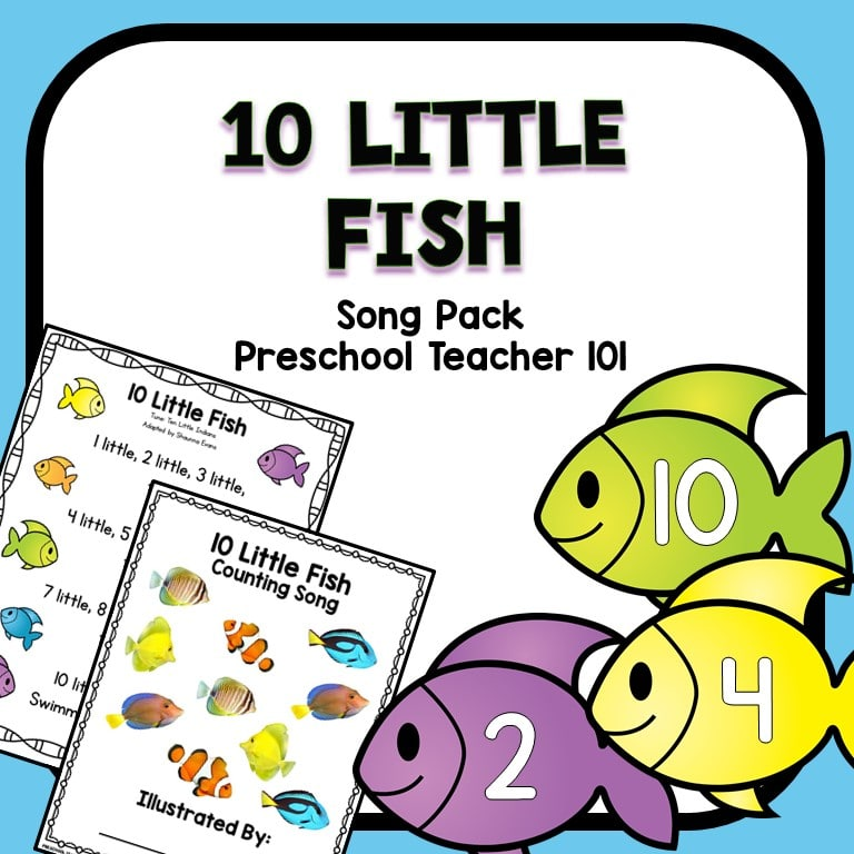 10 Little Fish-Cover
