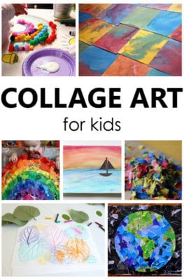 Try one these collage art for kids art projects and watch creativity come to life. Creative art projects for kids of all ages.