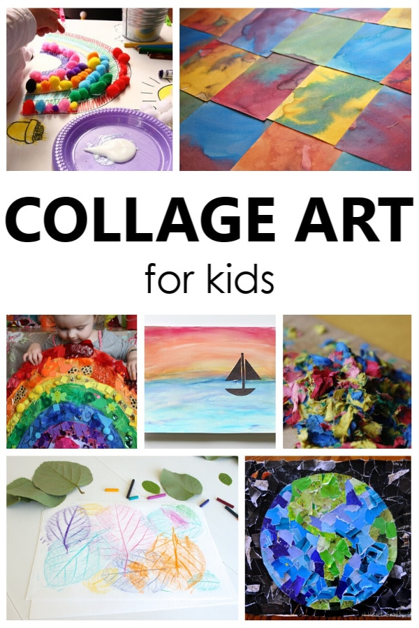Collage Art Projects for Kids. Try one these collage art for kids art projects and watch creativity come to life. Creative art projects for kids of all ages.