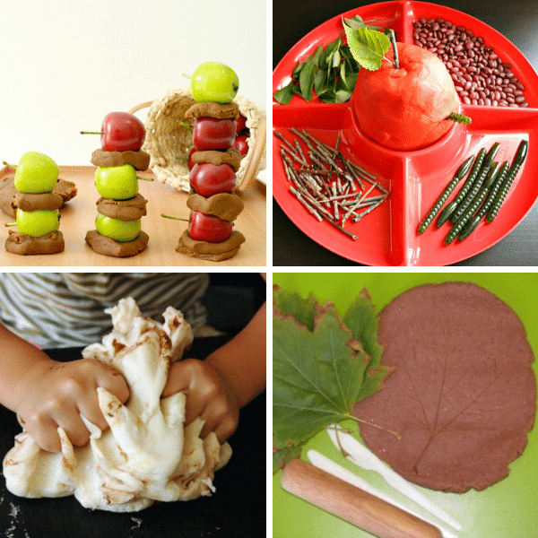 Fall Play Dough Activities