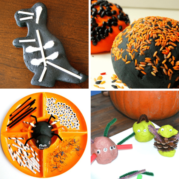 Halloween Play Dough Activities