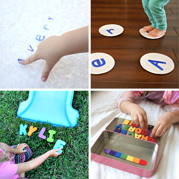 Alphabet Learning Name Activities for Kids