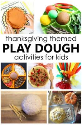 Thanksgiving Play Dough Activities