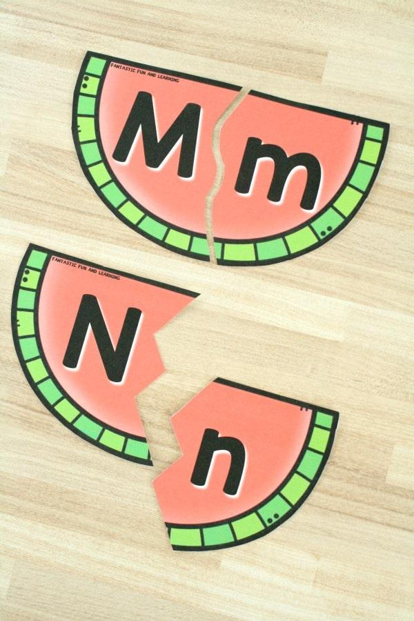 Watermelon ABC Puzzles