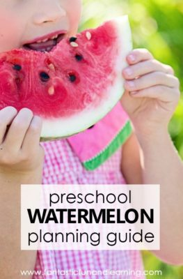 Watermelon Theme Planning Guide for Preschool Watermelon Lesson Plans and Summer Learning