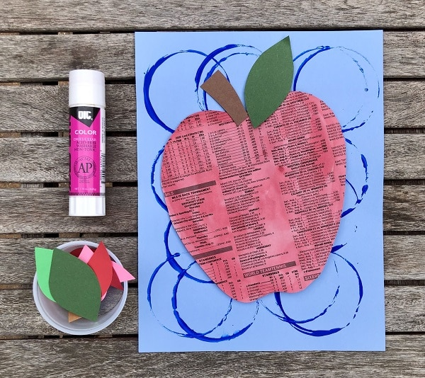 Easy Apple Craft for Kids