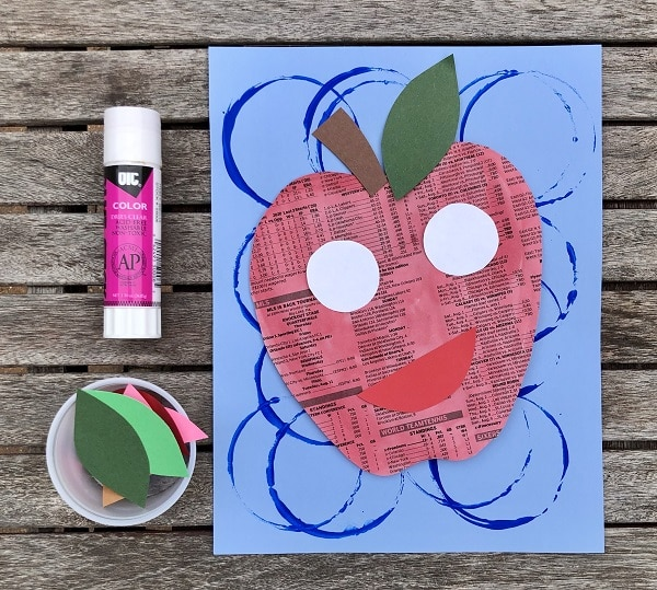 5-Step 4-Adding expressions to Apple Feelings Art Project