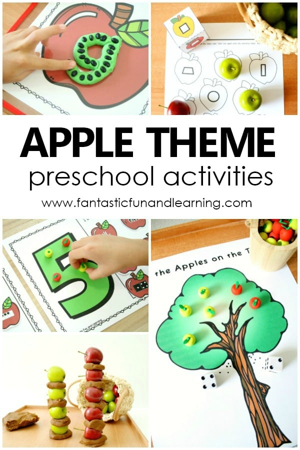 Apple Theme Preschool Activities and Lesson Plans for Preschoolers