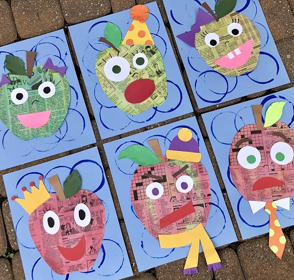 Apple Art Project for Kids