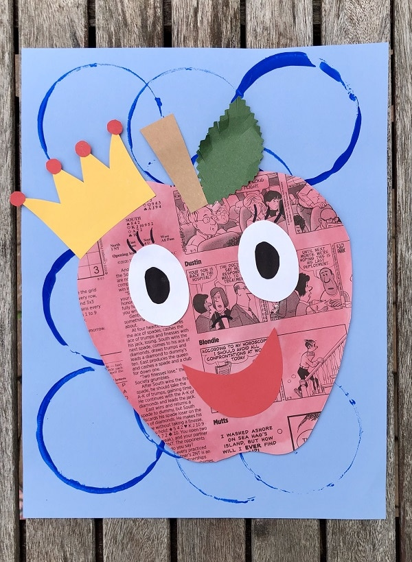 Apple Craft for Kindergarten