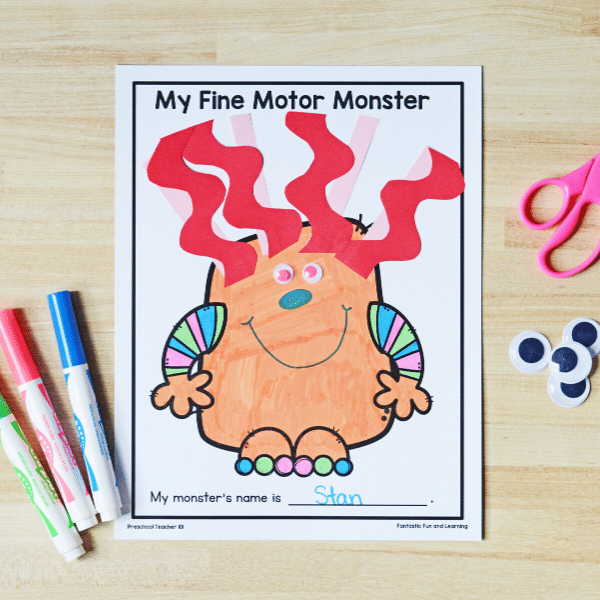 Monster Craft Project for Kids