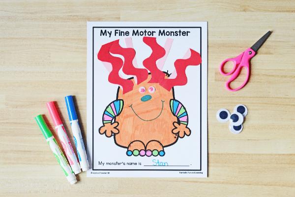 monsters wide 8