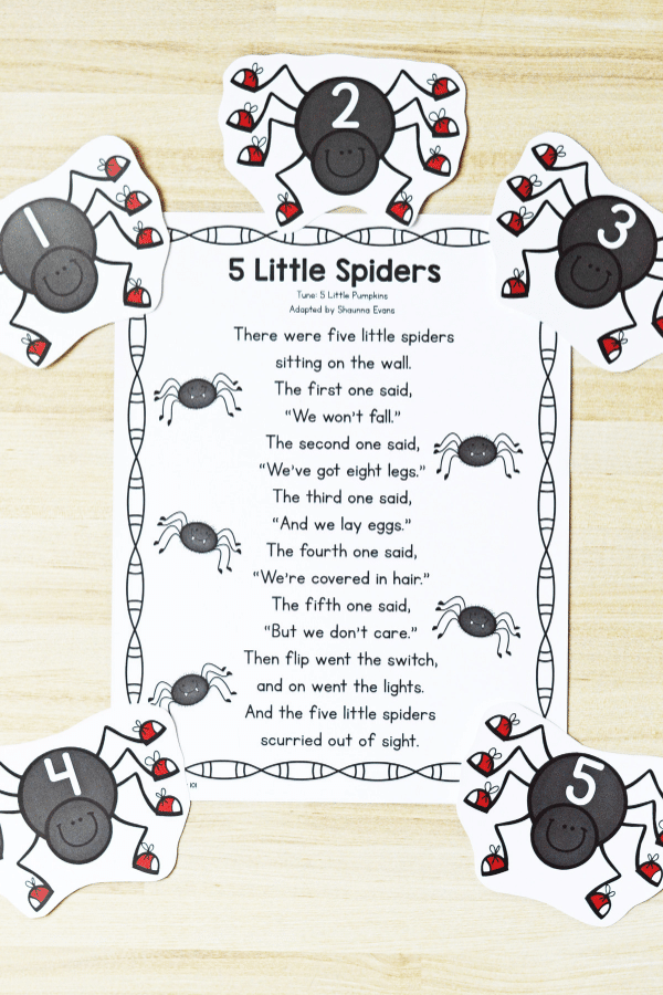 spiders tall 3