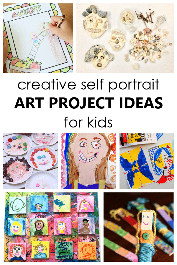 self portrait art projects