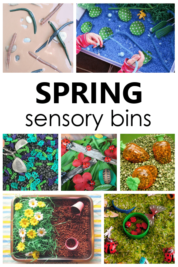 Spring Sensory Bin Ideas for Toddlers and Preschoolers. Easy Sensory Activities for Sensory Play.