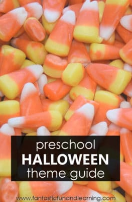 Preschool Halloween Theme Activities Planning Guide