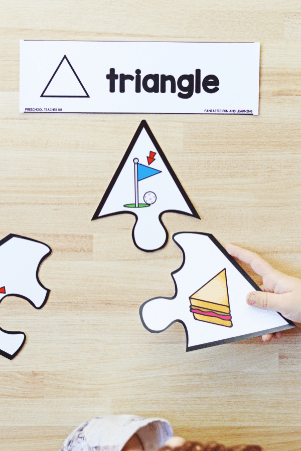 Preschool and Kindergarten 2D Shape Activities