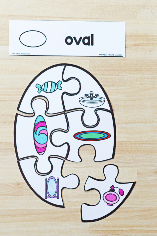 Shape Puzzle for Preschool and Kindergarten