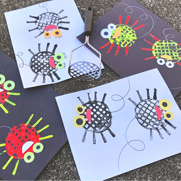Silly Spider Craft for Kids